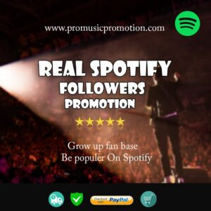 Spotify Monthly Promotion
